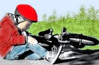 chute vélo